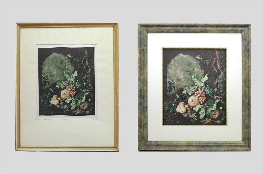 The Perfect Corner Custom Framing Studio - Before & After